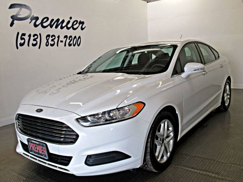 2013 Ford Fusion for sale at Premier Automotive Group in Milford OH