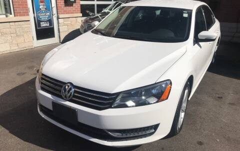 2013 Volkswagen Passat for sale at Buy A Car in Chicago IL