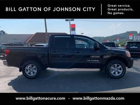 2008 Nissan Titan for sale at Bill Gatton Used Cars - BILL GATTON ACURA MAZDA in Johnson City TN