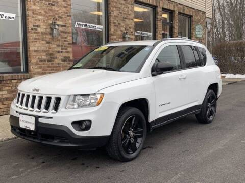 2013 Jeep Compass for sale at The King of Credit in Clifton Park NY