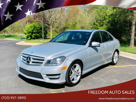 2013 Mercedes-Benz C-Class for sale at Freedom Auto Sales in Chantilly VA