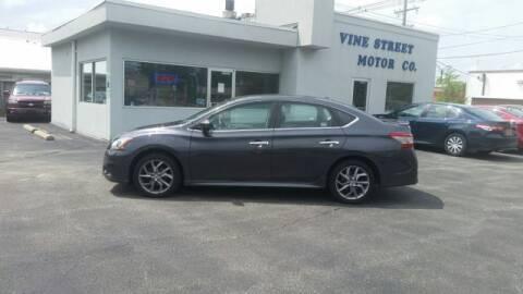 2014 Nissan Sentra for sale at VINE STREET MOTOR CO in Urbana IL