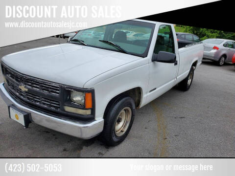 1998 Chevrolet C/K 1500 Series for sale at DISCOUNT AUTO SALES in Johnson City TN