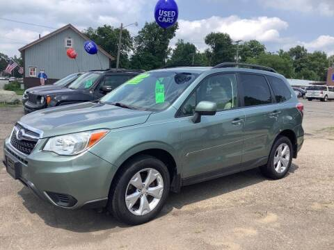 2015 Subaru Forester for sale at Mark's Sales and Service in Schoolcraft MI