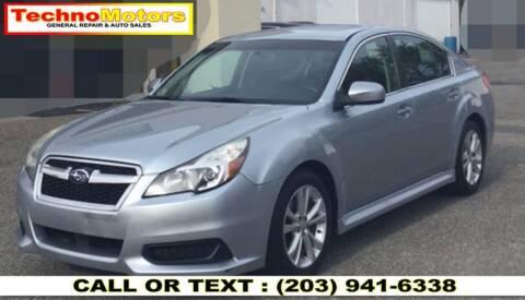 2014 Subaru Legacy for sale at Techno Motors in Danbury CT