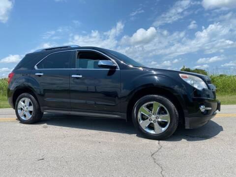 2013 Chevrolet Equinox for sale at ILUVCHEAPCARS.COM in Tulsa OK
