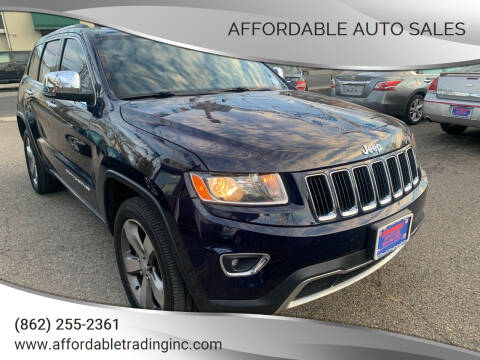 2014 Jeep Grand Cherokee for sale at Affordable Auto Sales in Irvington NJ