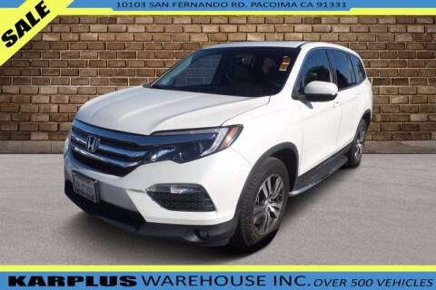 2016 Honda Pilot for sale at Karplus Warehouse in Pacoima CA