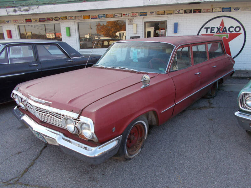 1963 Chevrolet Bel Air for sale at Governor Motor Co in Jefferson City MO