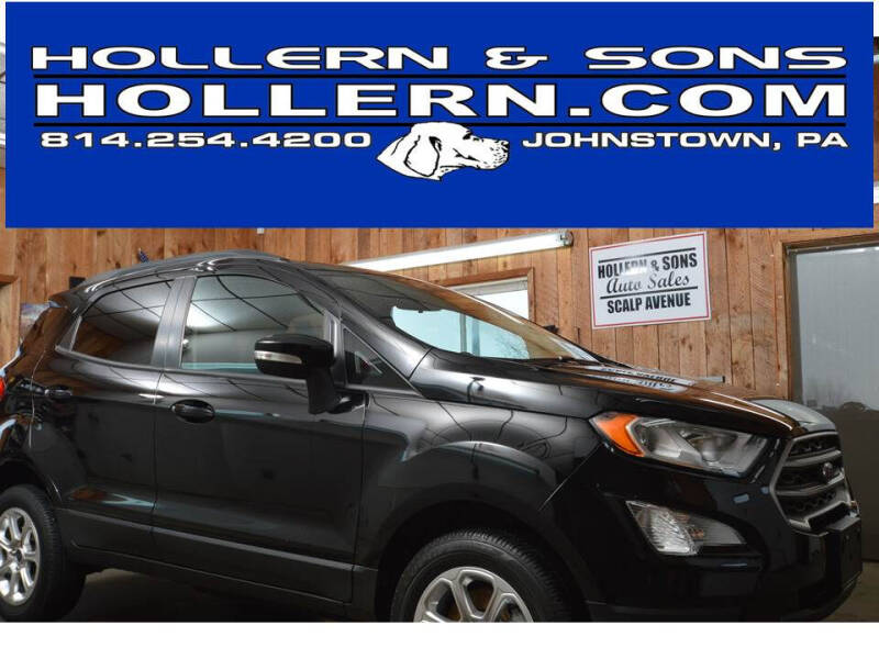 2018 Ford EcoSport for sale at Hollern & Sons Auto Sales in Johnstown PA