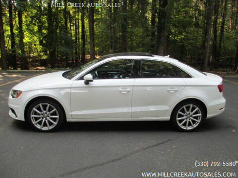 2016 Audi A3 for sale at Mill Creek Auto Sales in Youngstown OH