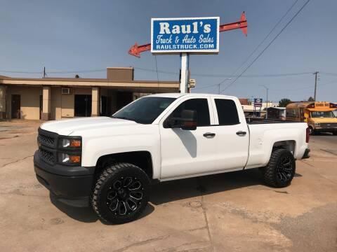 2015 Chevrolet Silverado 1500 for sale at RAUL'S TRUCK & AUTO SALES, INC in Oklahoma City OK