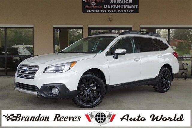2017 Subaru Outback for sale at Brandon Reeves Auto World in Monroe NC