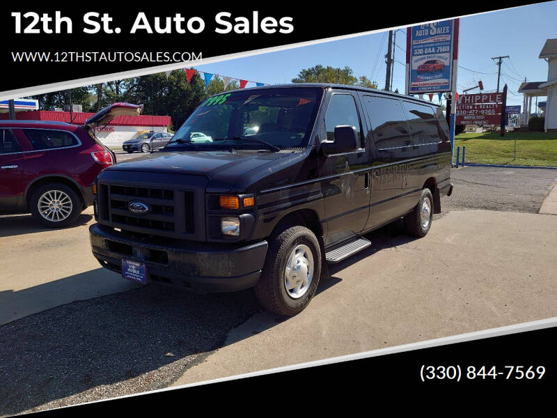2008 Ford E-Series Wagon for sale at 12th St. Auto Sales in Canton OH