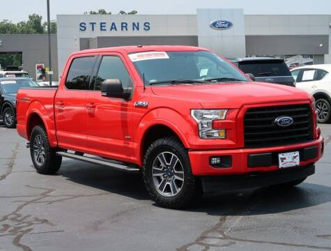 2017 Ford F-150 for sale at Stearns Ford in Burlington NC