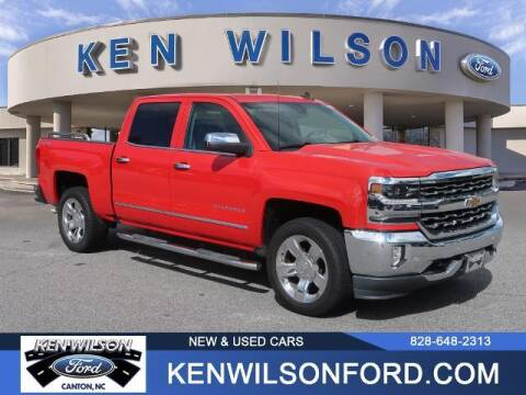2017 Chevrolet Silverado 1500 for sale at Ken Wilson Ford in Canton NC