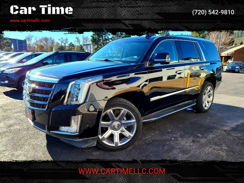 2019 Cadillac Escalade for sale at Car Time in Denver CO