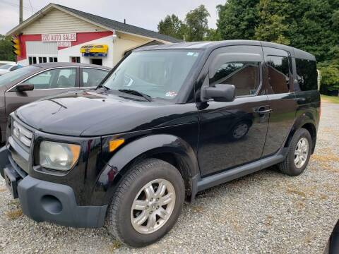 2007 Honda Element for sale at 220 Auto Sales in Rocky Mount VA