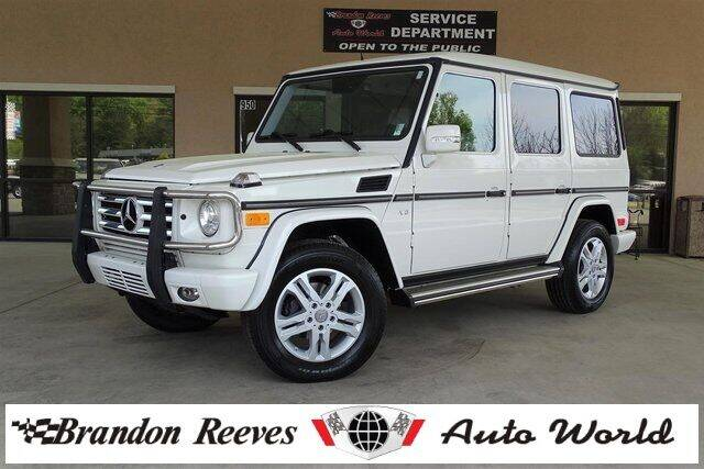 2012 Mercedes-Benz G-Class for sale at Brandon Reeves Auto World in Monroe NC