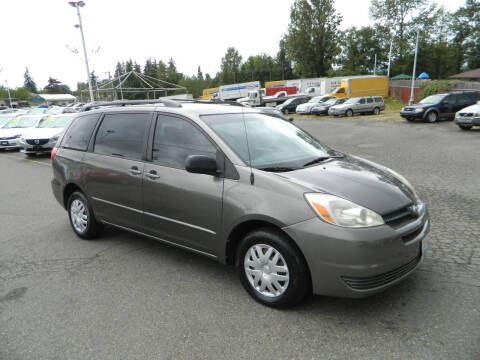 2005 Toyota Sienna for sale at J & R Motorsports in Lynnwood WA