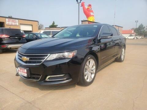 2019 Chevrolet Impala for sale at Bryans Car Corner in Chickasha OK