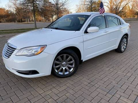 2014 Chrysler 200 for sale at JES Auto Sales LLC in Fairburn GA