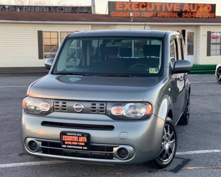2011 Nissan cube for sale at Executive Auto in Winchester VA