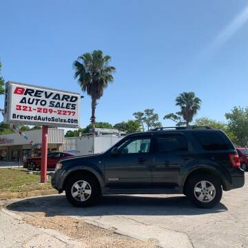 2008 Ford Escape for sale at Brevard Auto Sales in Palm Bay FL