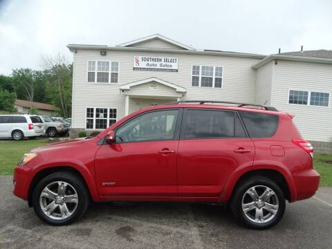 2010 Toyota RAV4 for sale at SOUTHERN SELECT AUTO SALES in Medina OH