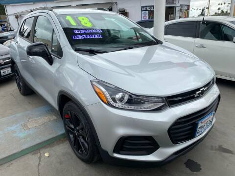 2018 Chevrolet Trax for sale at CAR GENERATION CENTER, INC. in Los Angeles CA