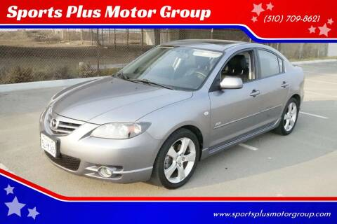 2005 Mazda MAZDA3 for sale at Sports Plus Motor Group LLC in Sunnyvale CA