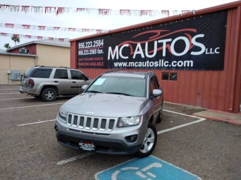 2016 Jeep Compass for sale at MC Autos LLC in Pharr TX