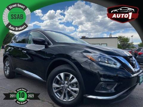 2018 Nissan Murano for sale at Street Smart Auto Brokers in Colorado Springs CO