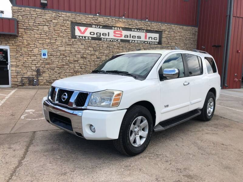 2005 Nissan Armada for sale at Vogel Sales Inc in Commerce City CO