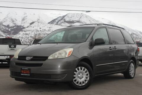 2005 Toyota Sienna for sale at REVOLUTIONARY AUTO in Lindon UT