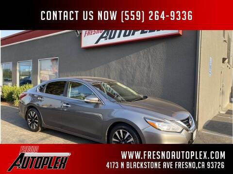 2018 Nissan Altima for sale at Carros Usados Fresno in Clovis CA