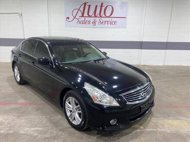 2013 Infiniti G37 Sedan for sale at Auto Sales & Service Wholesale in Indianapolis IN