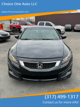 2008 Honda Accord for sale at Choice One Auto LLC in Beech Grove IN