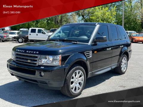 2008 Land Rover Range Rover Sport for sale at Klean Motorsports in Skokie IL