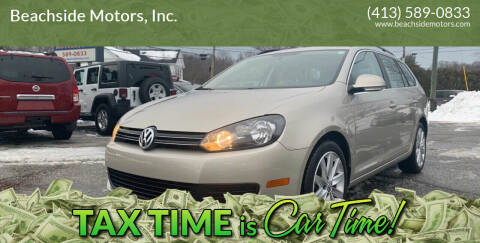 2013 Volkswagen Jetta for sale at Beachside Motors, Inc. in Ludlow MA