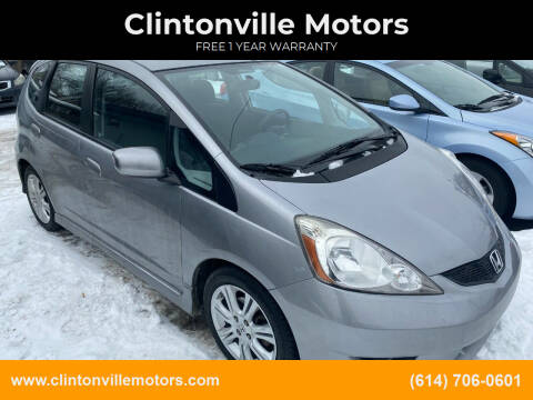 2009 Honda Fit for sale at Clintonville Motors in Columbus OH