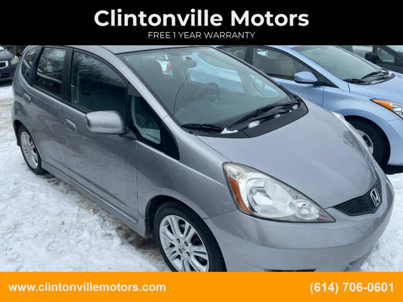 2009 Honda Fit for sale at Clintonville Motors in Columbus OH