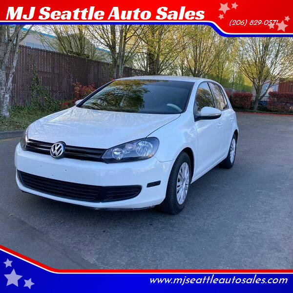 2014 Volkswagen Golf for sale at MJ Seattle Auto Sales in Kent WA