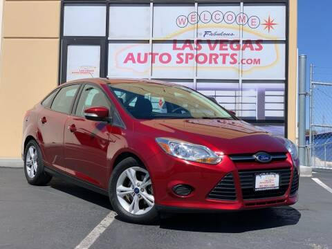 2014 Ford Focus for sale at Las Vegas Auto Sports in Las Vegas NV