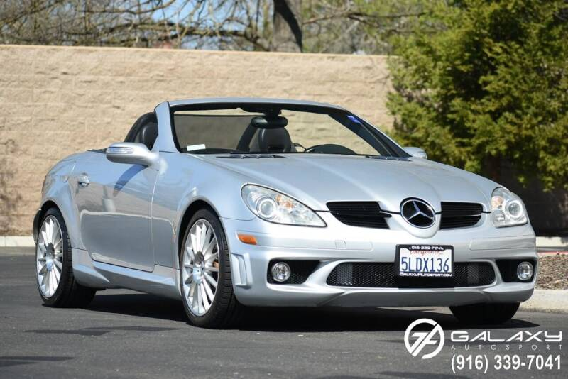 2005 Mercedes-Benz SLK for sale at Galaxy Autosport in Sacramento CA
