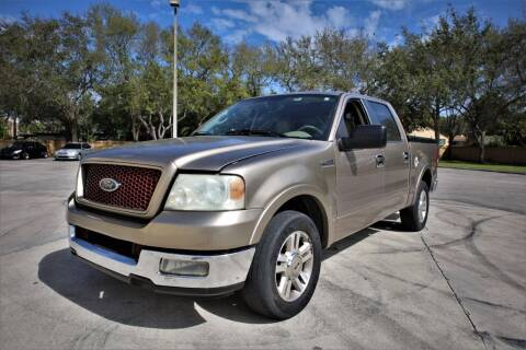 2005 Ford F-150 for sale at Easy Deal Auto Brokers in Hollywood FL