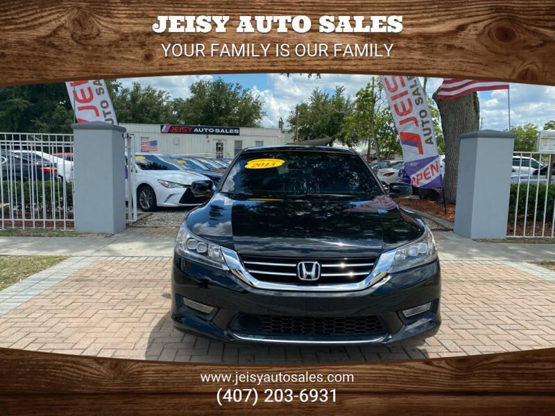 2013 Honda Accord for sale at JEISY AUTO SALES in Orlando FL