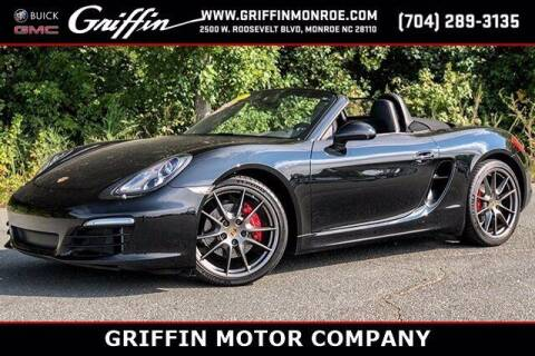2016 Porsche Boxster for sale at Griffin Buick GMC in Monroe NC