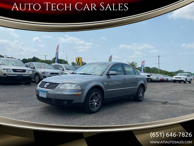 2004 Volkswagen Passat for sale at Auto Tech Car Sales in Saint Paul MN