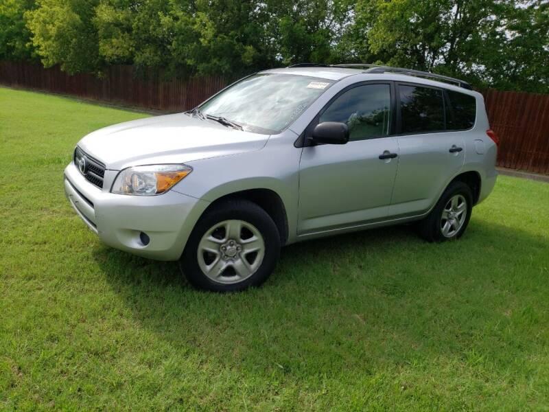 2006 Toyota RAV4 for sale at El Jasho Motors in Grand Prairie TX